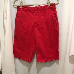 """Men's """"Dockers"""" Brand New Red Shorts Size:29"""